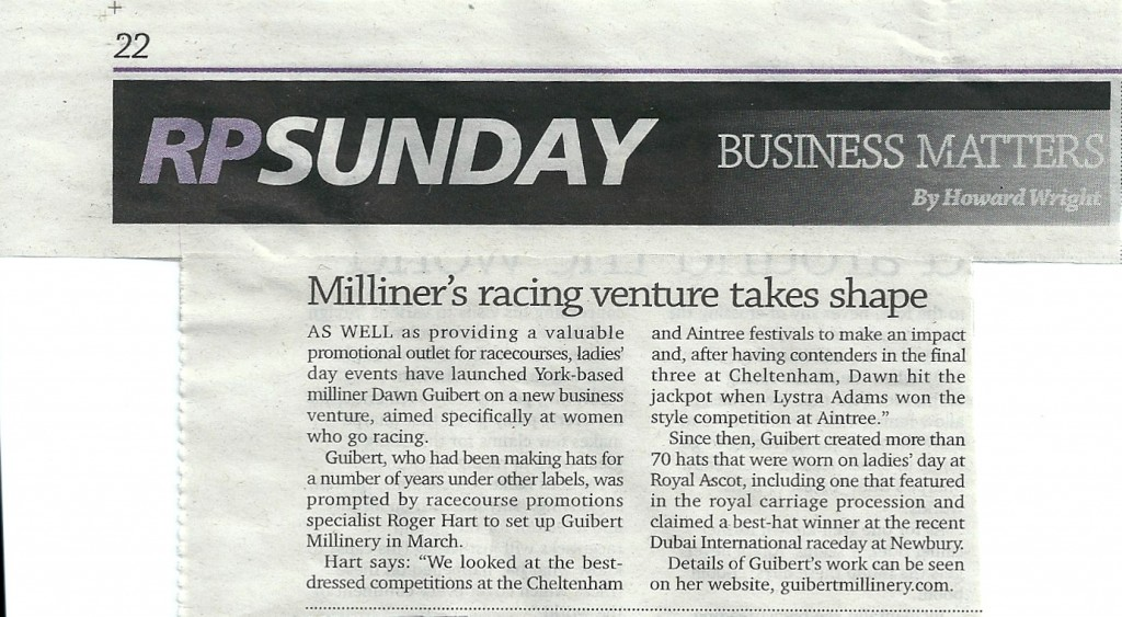 Racing Post Article
